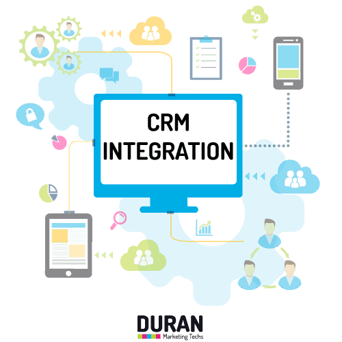 חיבור מערכות CRM ומערכות ERP לאתר המותג - דוראן