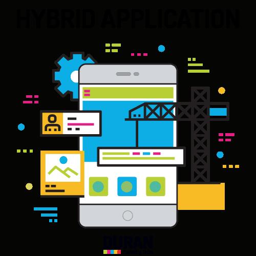 דוראן בניית אפליקציה היברידית